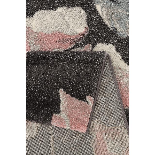 Teppich, »Sofia«, my home, rechteckig, Höhe 13 mm, maschinell gewebt