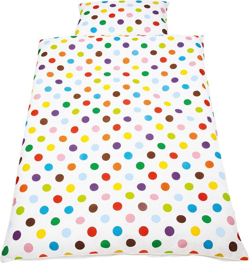 Babybettwäsche Dots Pinolino