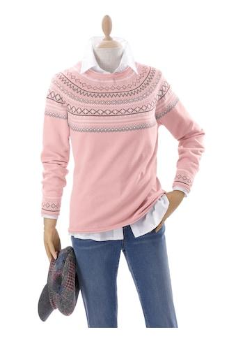 Inspirationen Pullover mit Norwegermuster kaufen