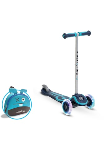 smarTrike® Dreiradscooter »T3, blau«, Mit Federstahlbremse und T-Lock System kaufen