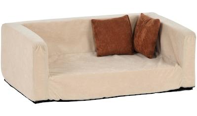 SILVIO design Tiersofa »Buddy«, BxLxH: 70x42x25 cm, sandfarben kaufen
