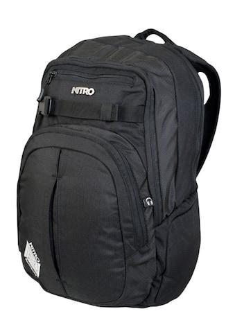NITRO Schulrucksack »Chase, Black« kaufen