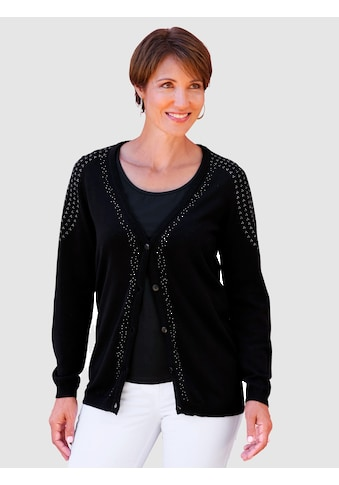 Paola Strickjacke, mit Strasssteinchen kaufen