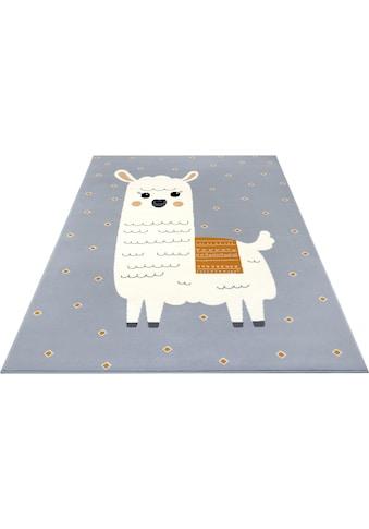 HANSE Home Kinderteppich »Lama Monty«, rechteckig, 9 mm Höhe kaufen