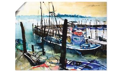 Artland Wandbild »Venedig, Fischerboote in Burano« kaufen