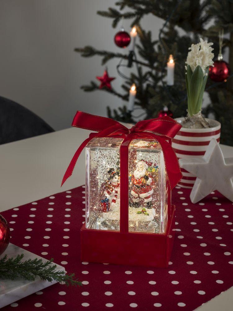 konstsmide led weihnachtsgeschenk mit weihnachtsmann. Black Bedroom Furniture Sets. Home Design Ideas