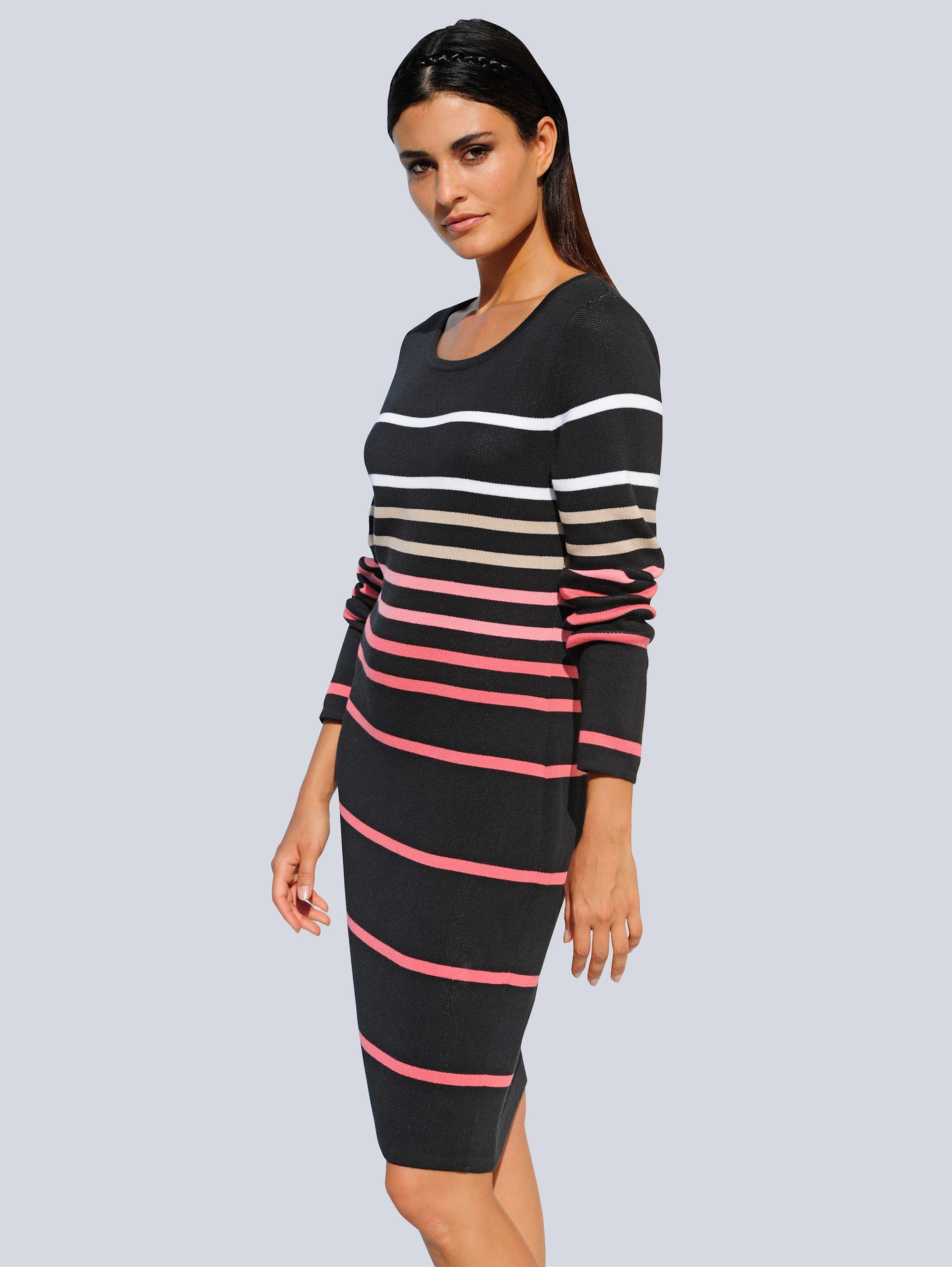 alba moda -  Strickkleid, aus hochwertiger Pima Cotton Qualität