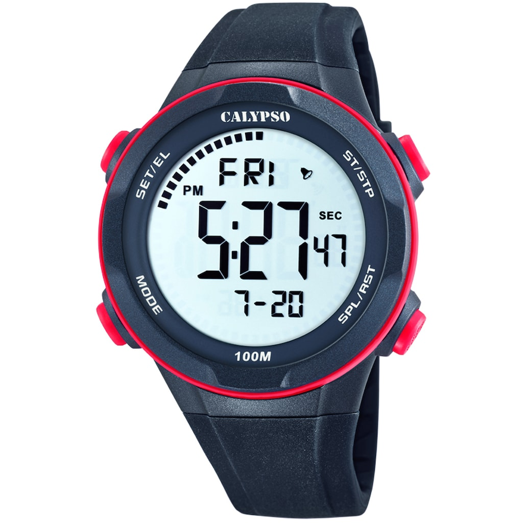 CALYPSO WATCHES Chronograph »Digital For Man, K5780/4«