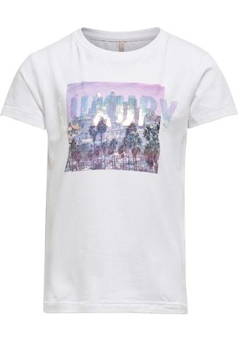 KIDS ONLY T-Shirt »KONLUX«, mit tollem Druck kaufen