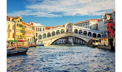 Papermoon Fototapete »Grand Canal and Rialto bridge« kaufen