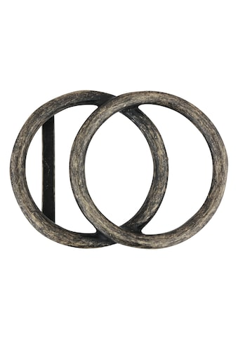 RETTUNGSRING by showroom 019° Gürtelschnalle »mit zwei Kreisen«, in edlem Design kaufen