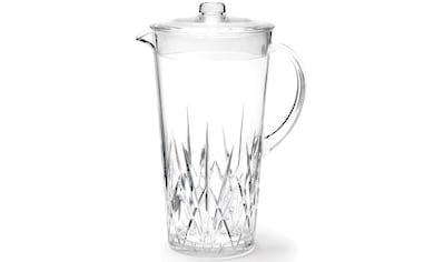 Q Squared NYC Gläser-Set, (Set, 4 tlg., 1 x Karaffe, 3 x Wasserglas), (1 Karaffe, 3... kaufen