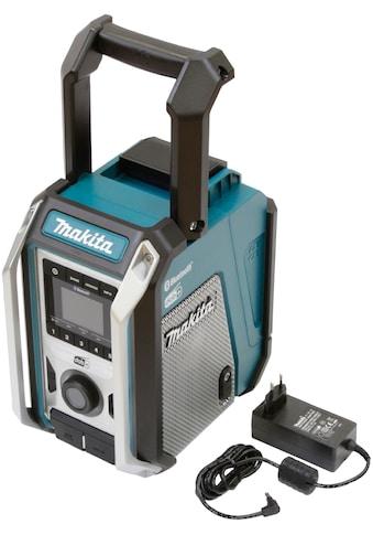 Makita Baustellenradio »DMR115«, (Bluetooth FM-Tuner-Digitalradio (DAB+) ), 12V,... kaufen