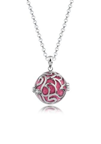 Nenalina Kette mit Anhänger »Engelsflüsterer Filzkugeln Ornament 925 Silber« kaufen