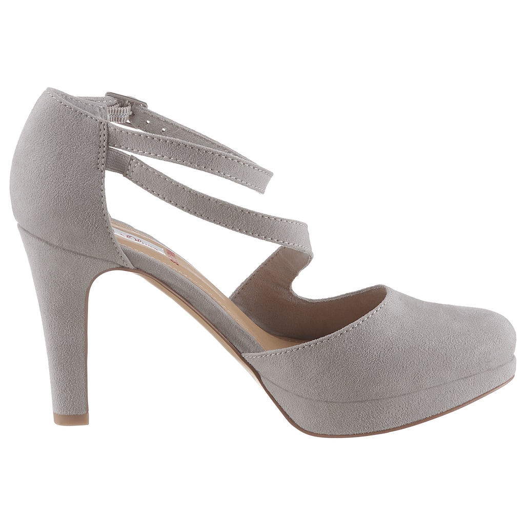 s.Oliver High-Heel-Pumps, mit verstellbarer Schnalle