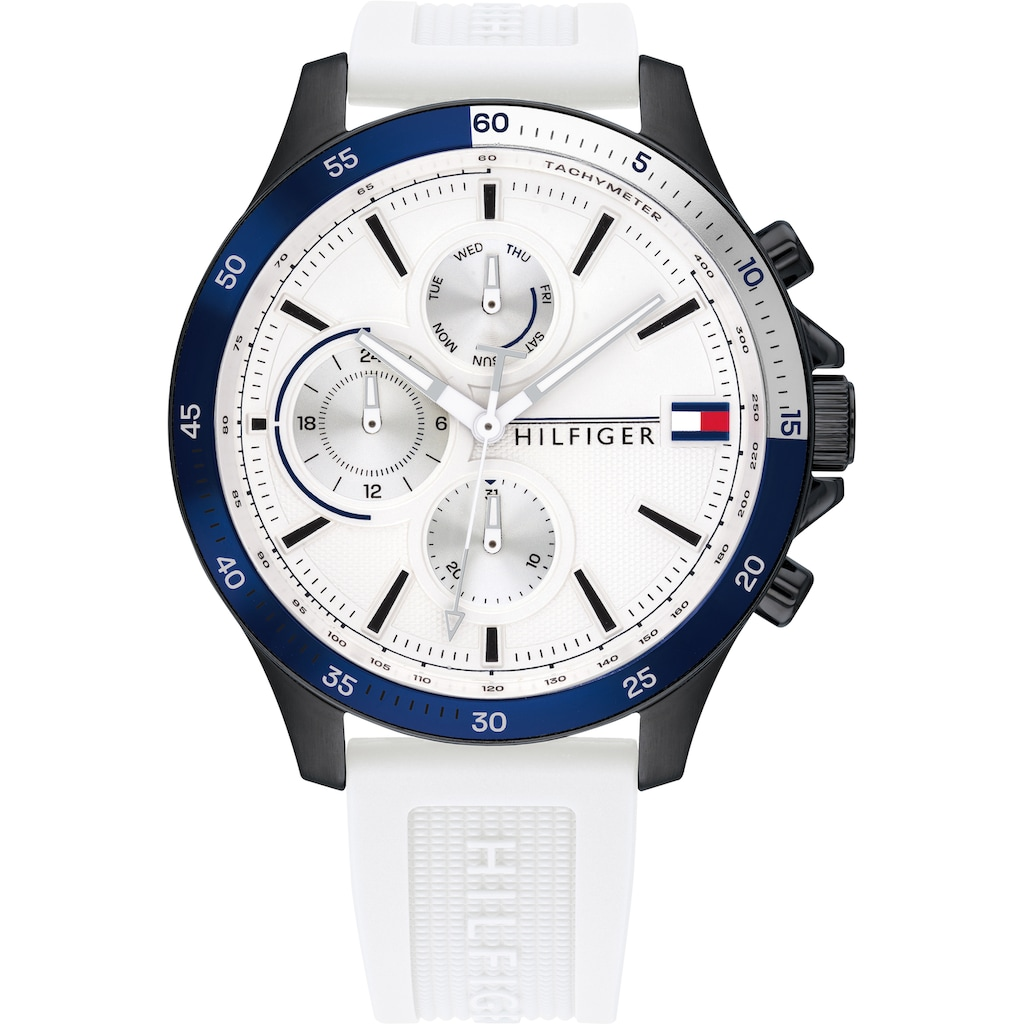 TOMMY HILFIGER Multifunktionsuhr »CASUAL, 1791723«