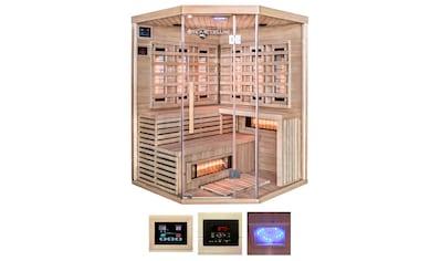 HOME DELUXE Infrarotkabine »Sahara XXL«, B/T/H: 150/150/200 cm, für bis zu 4 Personen kaufen