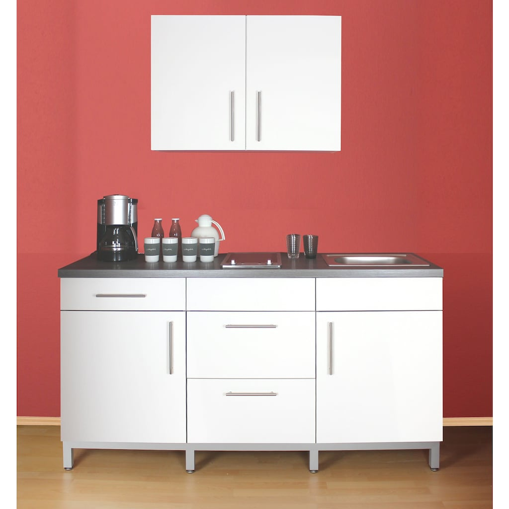 Menke Küchen Küchenzeile »Rack-Time Junior 180«, mit E-Geräten