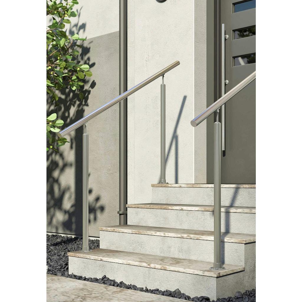 Dolle Treppengeländer, Bodenmontage