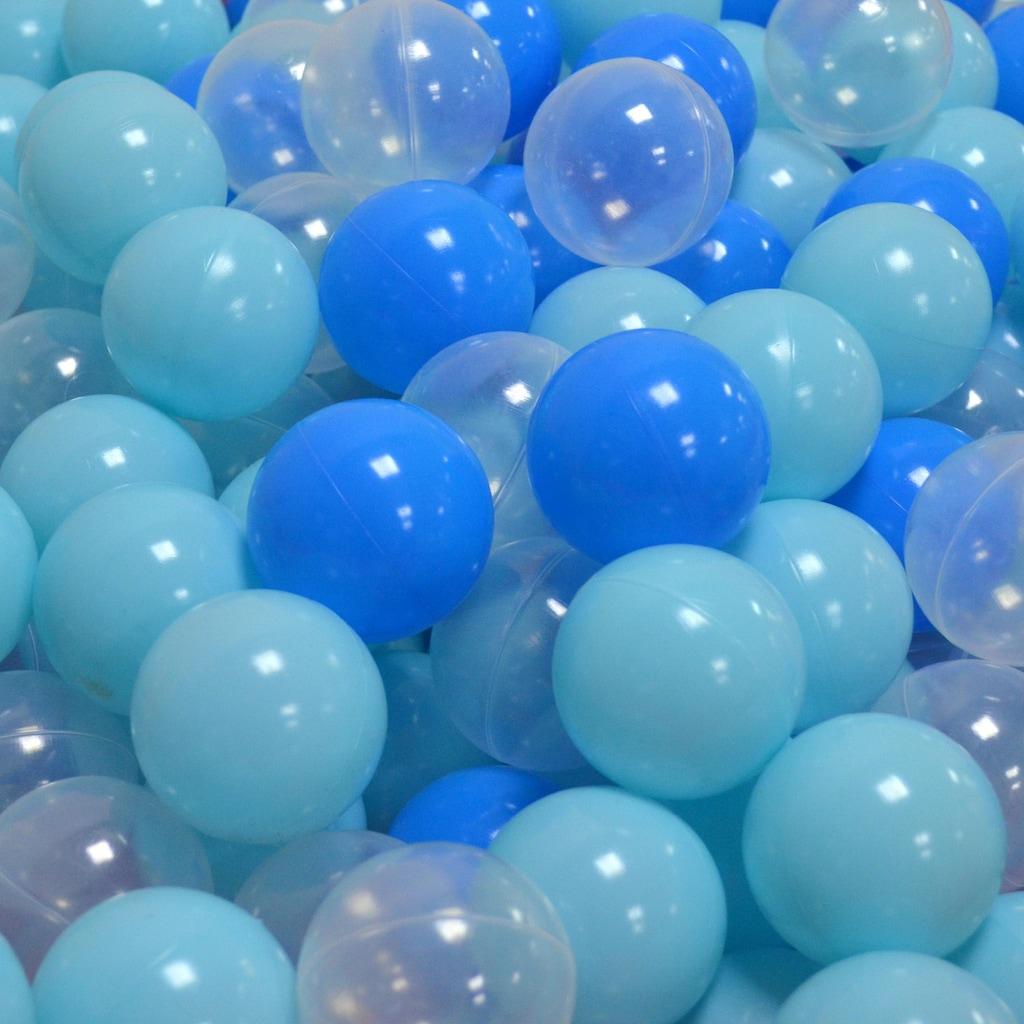 Knorrtoys® Bällebad-Bälle »soft blue + white«, (300)