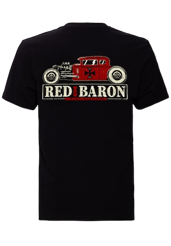 KingKerosin Print-Shirt »Red Baron«, im Retro mit Back-Print kaufen