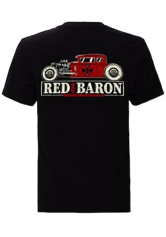 KingKerosin Print - Shirt »Red Baron« kaufen