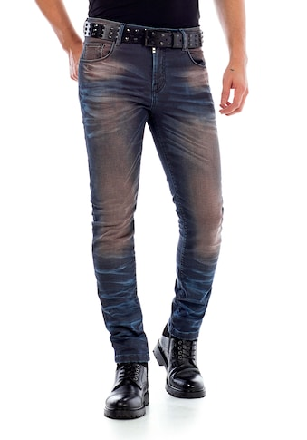 Cipo & Baxx Slim-fit-Jeans, im 5-Pocket Style in Straight Fit kaufen