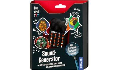 """Kosmos Experimentierkasten """"Die drei ??? Sound - Generator"""" kaufen"""