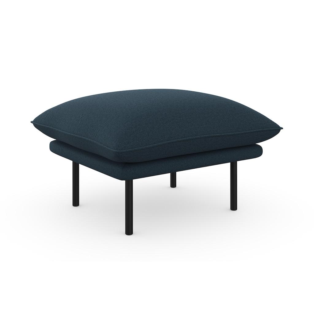 andas Polsterhocker »Stine«, Besonderes Design durch Kissenoptik und Keder, Design by Morten Georgsen