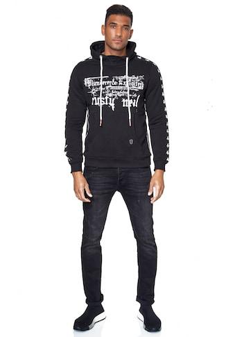 Rusty Neal Kapuzensweatshirt, mit plakativem Frontprint kaufen