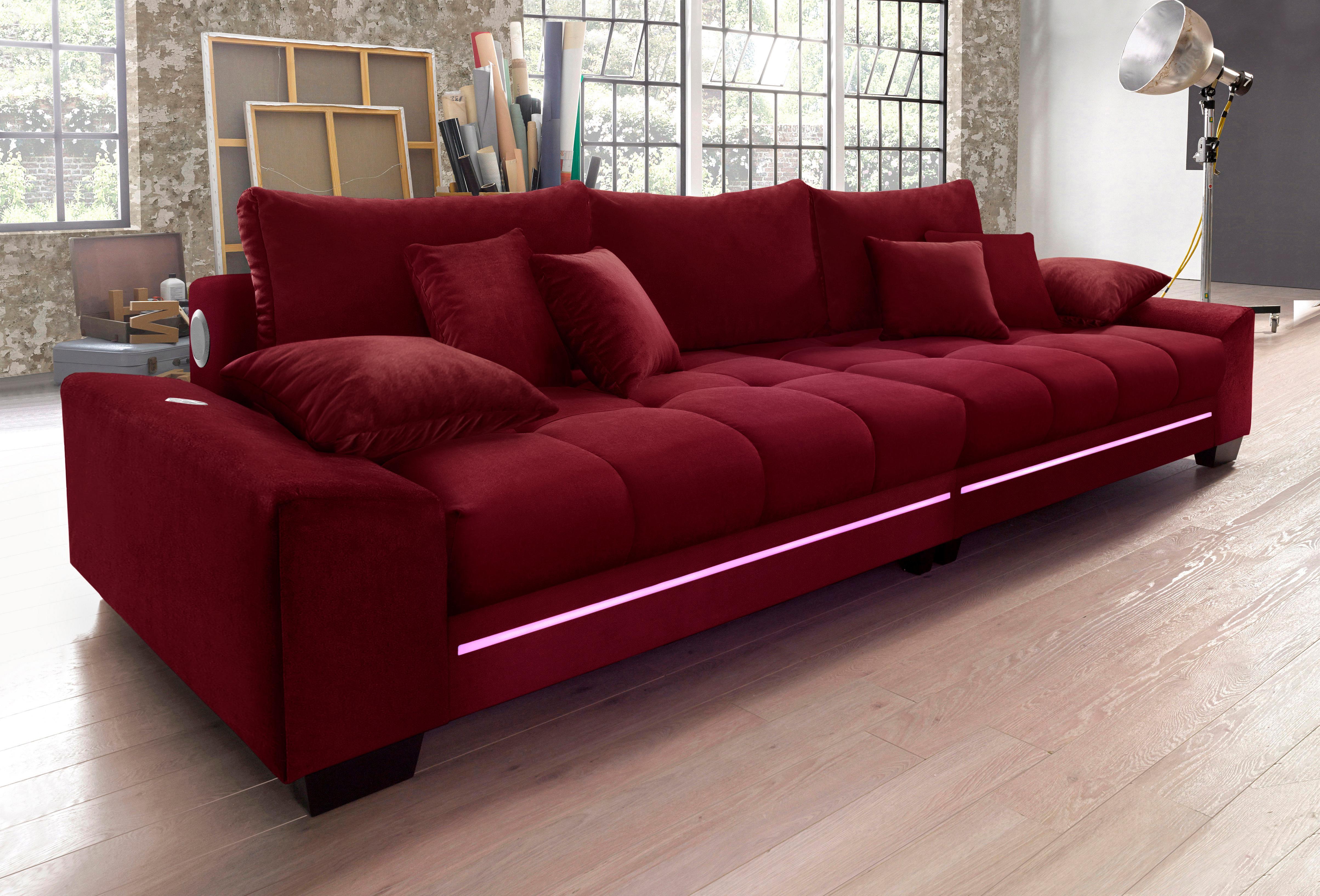 nova via big sofa bestellen baur. Black Bedroom Furniture Sets. Home Design Ideas