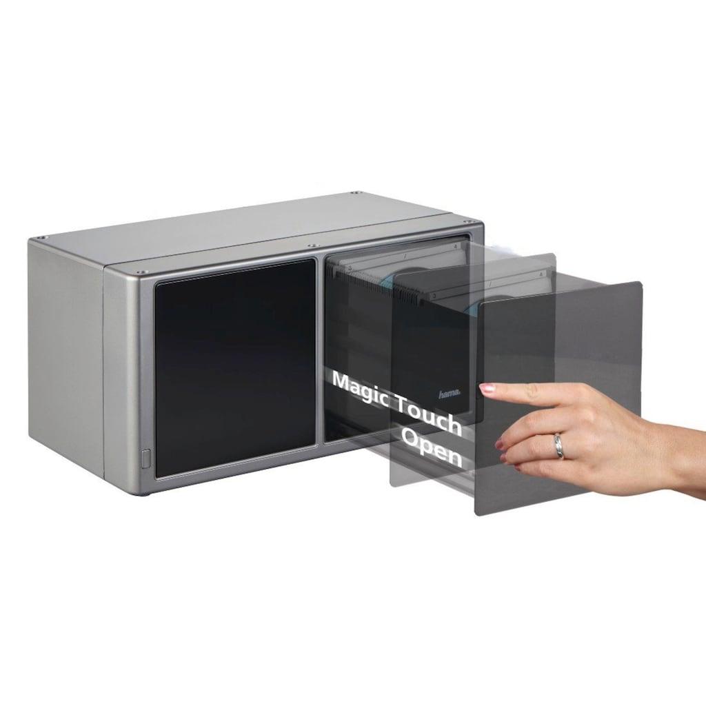 "Hama CD-/DVD-/Blu-ray-Box ""Magic Touch"" 120, Silber"
