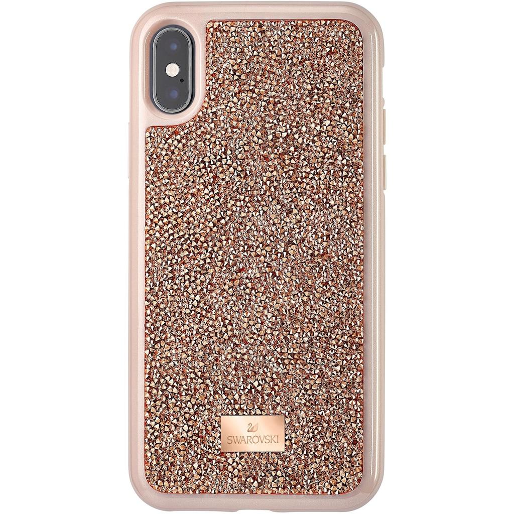 Swarovski Smartphone-Hülle »GLAM ROCK IPX CASE Schutzhülle mit integriertem Stoßschutz, iPhone® X/XS, roségoldfarben, 5498749«