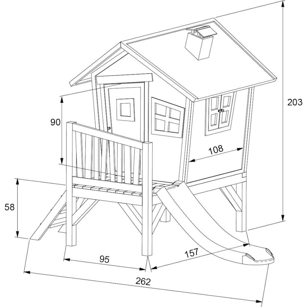 AXI Spielturm »Robin«, BxTxH: 264x177x203 cm