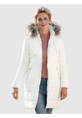 Dress In Langjacke, mit abnehmbaren Webpelz kaufen