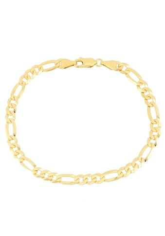 Firetti Armband »Figarokettengliederung 3:1, 2,8 mm, 2 - fach diamantiert« kaufen