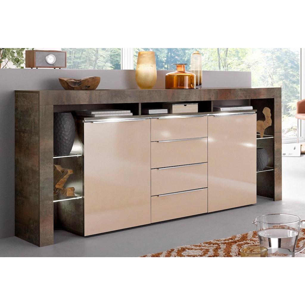 borchardt Möbel Sideboard »Lima«, Breite 192 cm