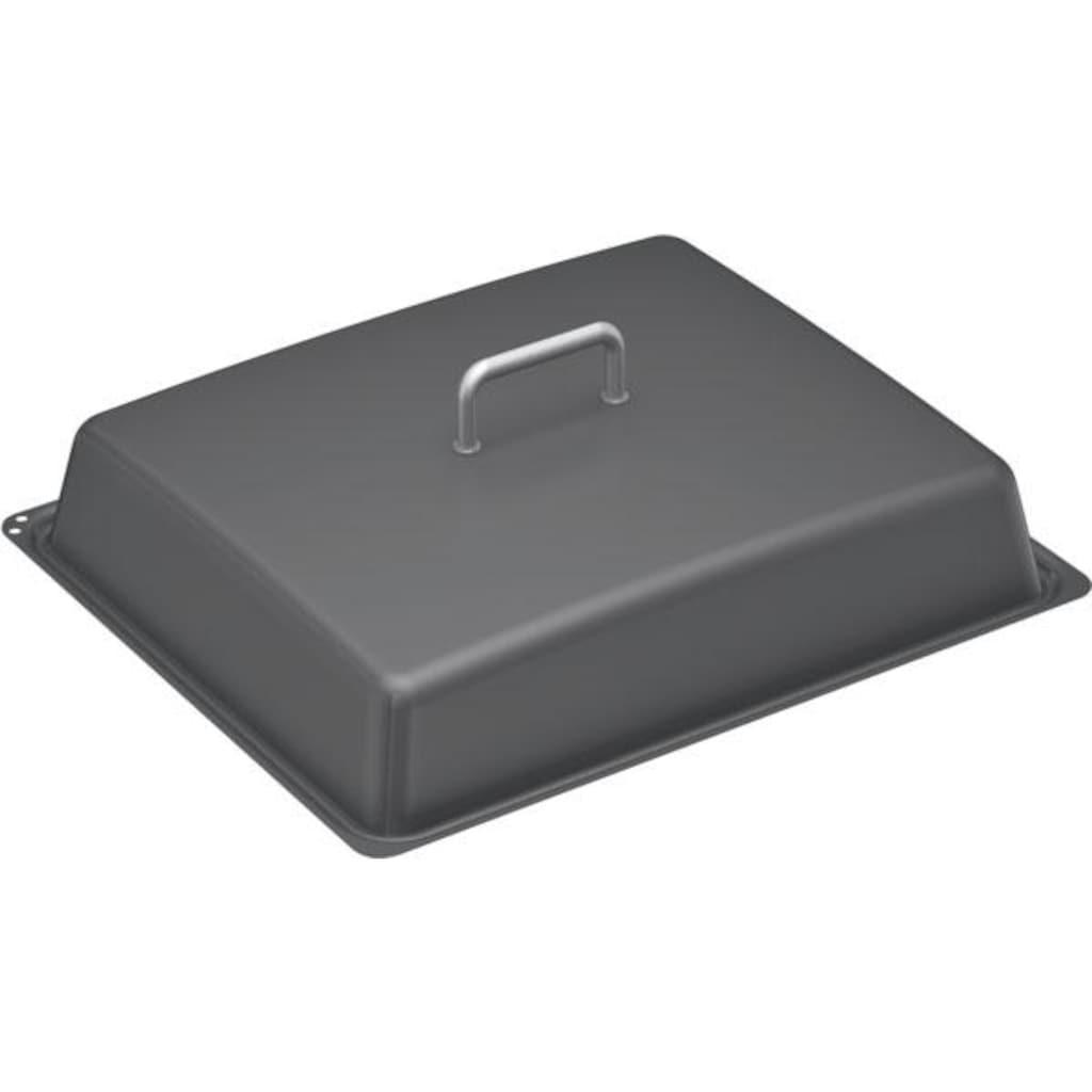 NEFF Pfannendeckel, für Profipfanne Z11CL15E0, emailliert, grau