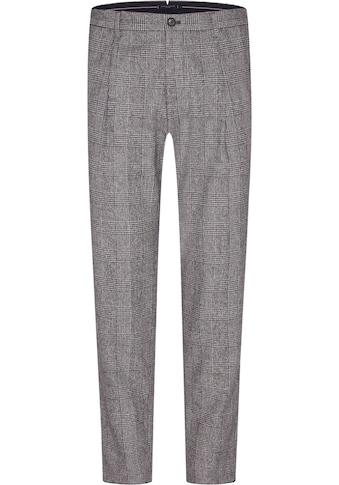Tommy Hilfiger TAILORED Anzughose »CHECK SLIM PANT«, durch Riegel in der Weite regulierbar kaufen
