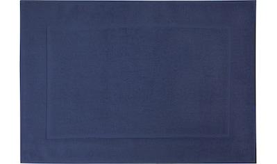 framsohn frottier Badematte »Uni Basic«, Höhe 11 mm, beidseitig nutzbar, reine Baumwolle kaufen