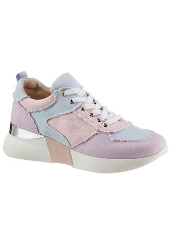 La Strada Wedgesneaker »Fashion Sneaker«, im Patchwork Look kaufen