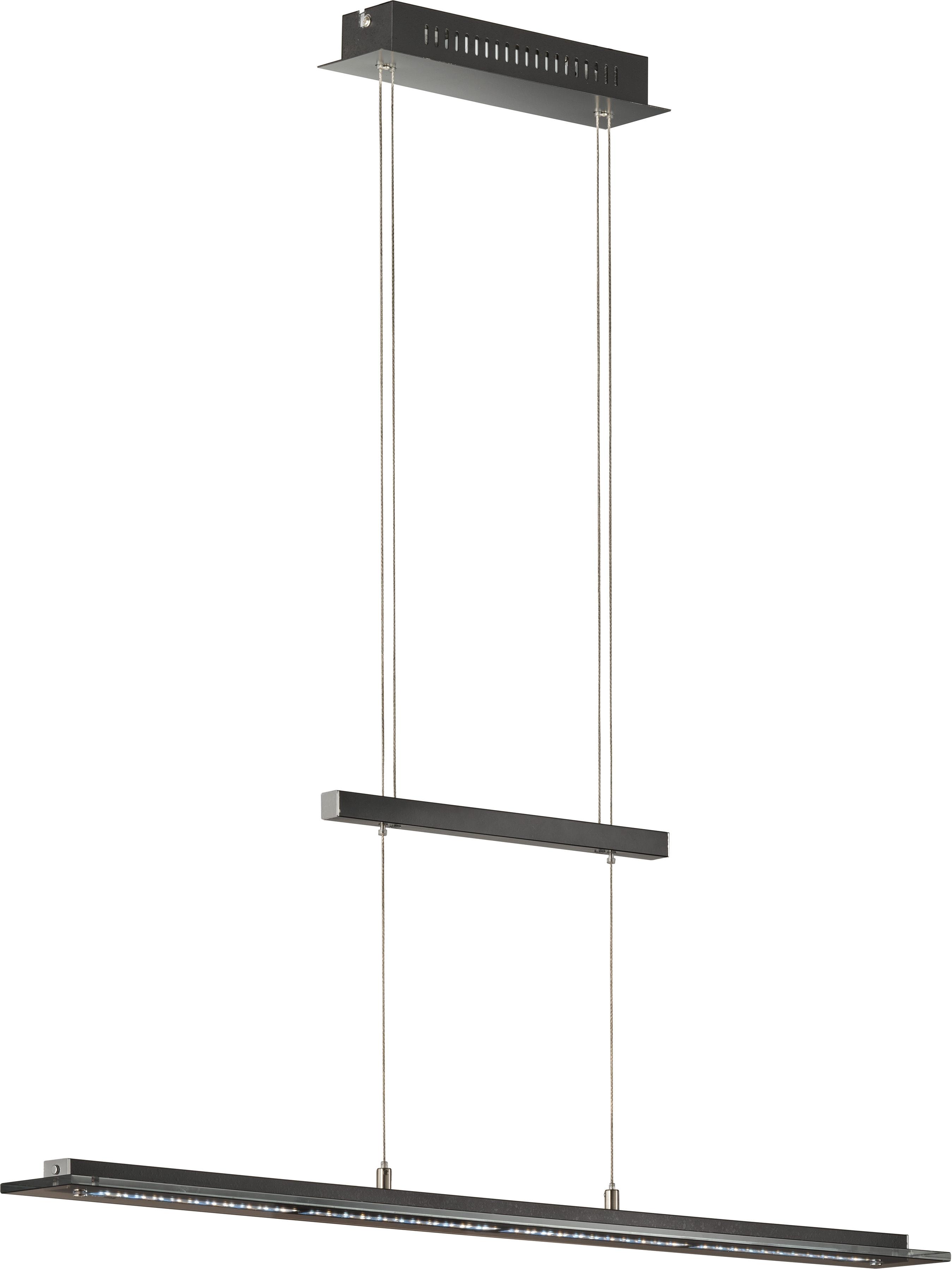 FISCHER & HONSEL LED-Hängeleuchte Tenso TW, LED-Board, 1 St., LED Pendelleuchte, LED Pendellampe