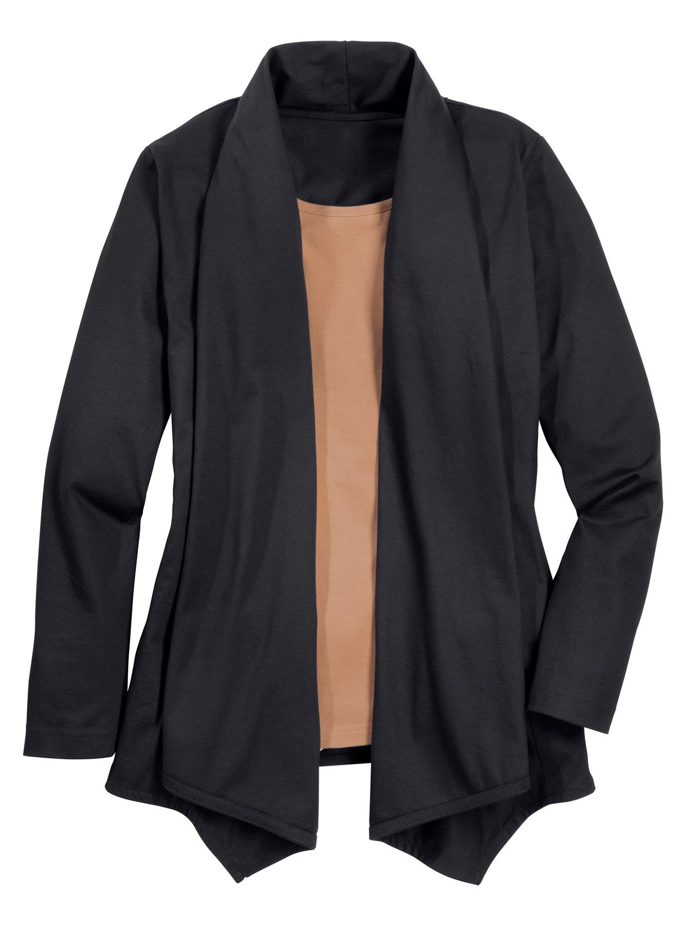 Classic Basics 2-in-1-Shirt mit Schalkragen   Bekleidung > Shirts > 2-in-1 Shirts   Classic Basics