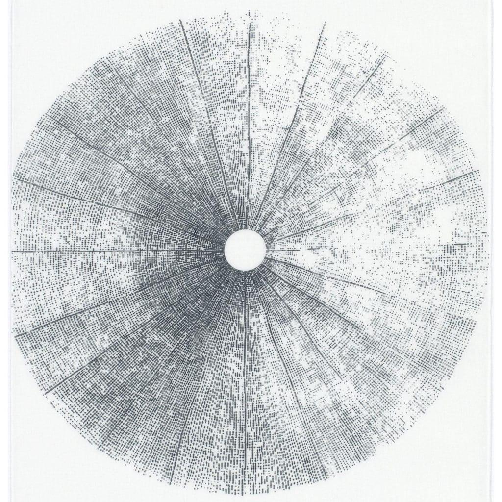 GARDINIA Schiebegardine »Flächenvorhang Stoff Tree«, HxB: 245x60