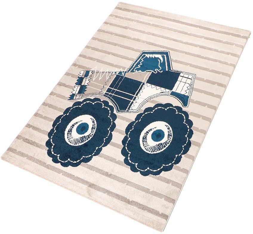 Kinderteppich Truck Living Line rechteckig Höhe 12 mm maschinell gewebt