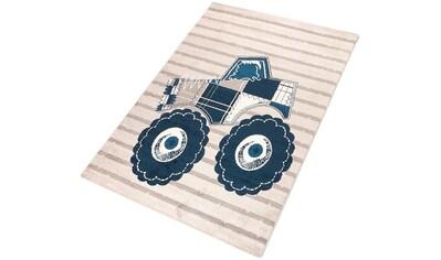 Kinderteppich, »Truck«, Living Line, rechteckig, Höhe 12 mm, maschinell gewebt kaufen