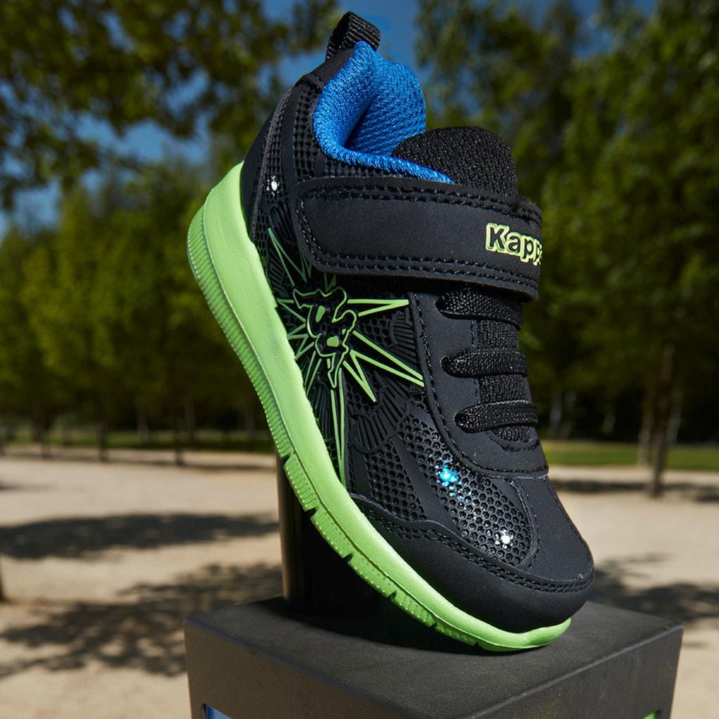 Kappa Sneaker »BANG K«, mit cooler Blinkfunktion<br />