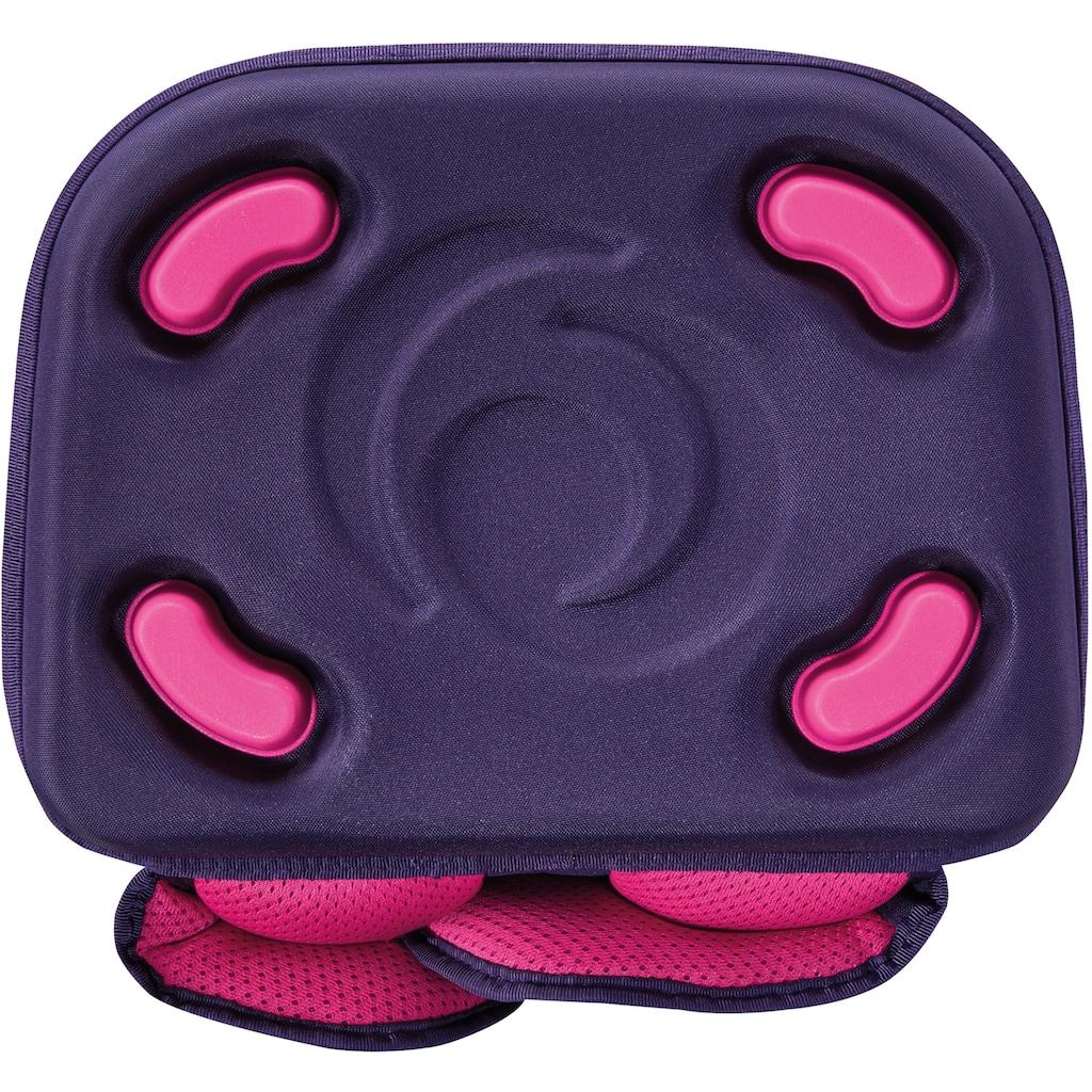 Herlitz Schulranzen »Grundschulrucksack SoftFlex Plus, Tropical Heart«, Floureszierende Flächen-reflektierende Streifen auf den Schultergurten