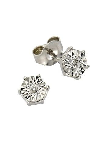 Diamonds by Ellen K. Ohrstecker »333/ -  Weißgold Brillant 0,02ct.« kaufen