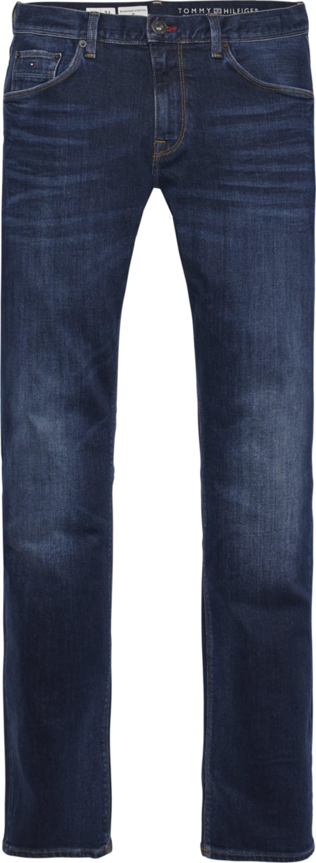 TOMMY HILFIGER Slim-fit-Jeans CORE BLEECKER SLIM JEANS blau Herren Slim Fit Jeans